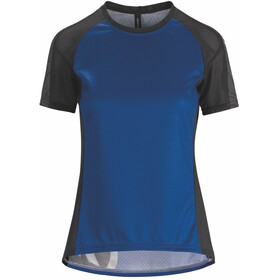 assos Trail Bike Jersey Shortsleeve Women blue/black